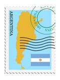 argentina poczta ilustracji
