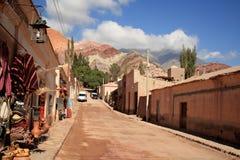 argentina purmamarca royaltyfri bild