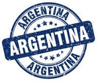 Argentina stamp. Argentina round grunge stamp isolated on white background. Argentina