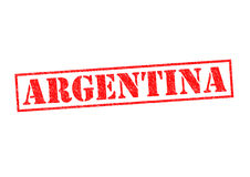 ARGENTINA. Rubber Stamp over a white background Royalty Free Stock Photos