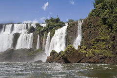 Argentina's Iguazu Falls Stock Photo
