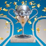 Argentina soccer trophy Royalty Free Stock Image