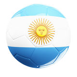 Argentina soccerball Stock Photography
