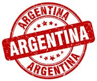 Argentina stamp stock illustration