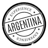Argentina stamp rubber grunge Royalty Free Stock Photo