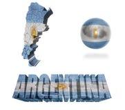 Argentina symboler vektor illustrationer