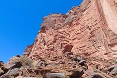 Argentina Talampaya rock formation Stock Photos