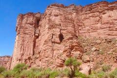 Argentina Talampaya rock formation Stock Image
