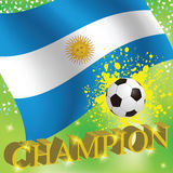 Argentina Team Royalty Free Stock Photos