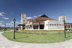 argentina tigre historyczny stacji pociągu fotografia royalty free