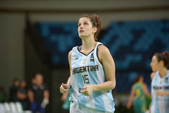 Argentina vs Australia Stock Photography