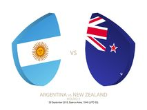 Argentina vs New Zealand, 2018 Rugby Championship, round 5. Argentina vs New Zealand, 2018 Rugby Championship, round 5 royalty free illustration