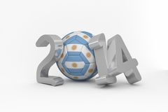 Argentina world cup 2014 Stock Photography