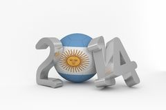 Argentina world cup 2014 Stock Image