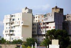 Argentinaren renoverade lägenheter i fattig sida av den Buenos Aires staden royaltyfria bilder