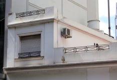 Argentinaren renoverade lägenheter i fattig sida av den Buenos Aires staden arkivbilder