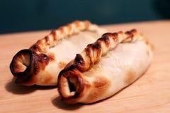Argentinas d'Empanadas sur une table photos libres de droits