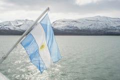 Argentina's flag Stock Photos
