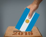 Argentinas presidential election 2019 concept stock images