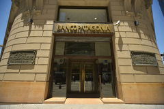 Argentine bank Banco Patagonia Stock Photos