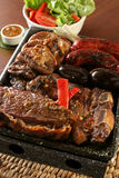 Argentine barbecue Royalty Free Stock Photo