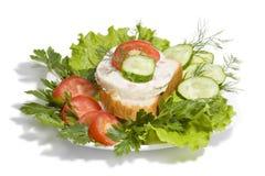 Argentine Chicken Sandwich Stock Photo