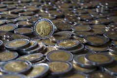 Argentine coin Royalty Free Stock Photo