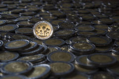 Argentine coin Stock Image