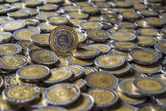 Argentine coin Stock Photography