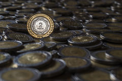 Argentine coin Royalty Free Stock Photography