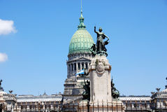 Argentine Congress Royalty Free Stock Photos