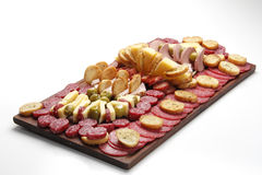 Argentine deli table (picada) Royalty Free Stock Photo