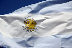 Argentine flag Stock Photos