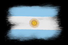 The Argentine flag Stock Photo
