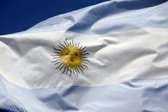 argentine flaga Zdjęcia Stock