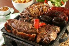 argentine grill fotografia royalty free