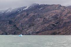 Argentine Lake Ice Block Royalty Free Stock Photo