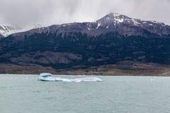 Argentine Lake Ice Block Stock Photography