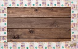 Argentine money / pesos / place for inscription Royalty Free Stock Images