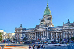 Argentine National Congress at Buenos Aires, Argentina Royalty Free Stock Image