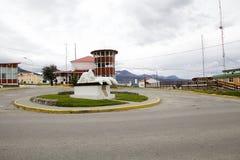 Argentine naval base in Ushuaia, Argentina Royalty Free Stock Photo