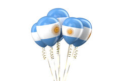 Argentine patriotic balloons,  holyday concept Stock Photography