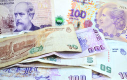 Argentine pesos Stock Photography