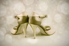 Argentine tango shoes Royalty Free Stock Images