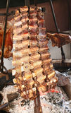 Argentinean Asador Stock Photo