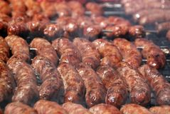 Argentinean barbecue sausages Royalty Free Stock Photography