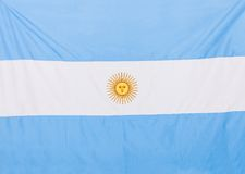 Argentinean flag Stock Images