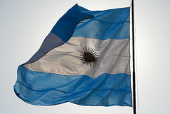 Argentinean Flag Royalty Free Stock Photos