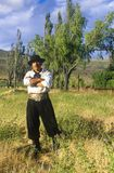 Argentinean gaucho cowboy in El Calafate, Patagonia, Argentina Stock Photos