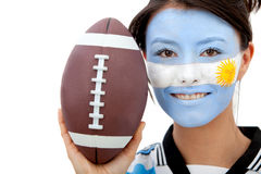 Argentinean rugby fan Stock Photo